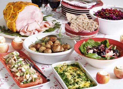 Njut med gott samvete! MåBra:s viktvänliga julmat gör både smaklökar och midjemått glada...