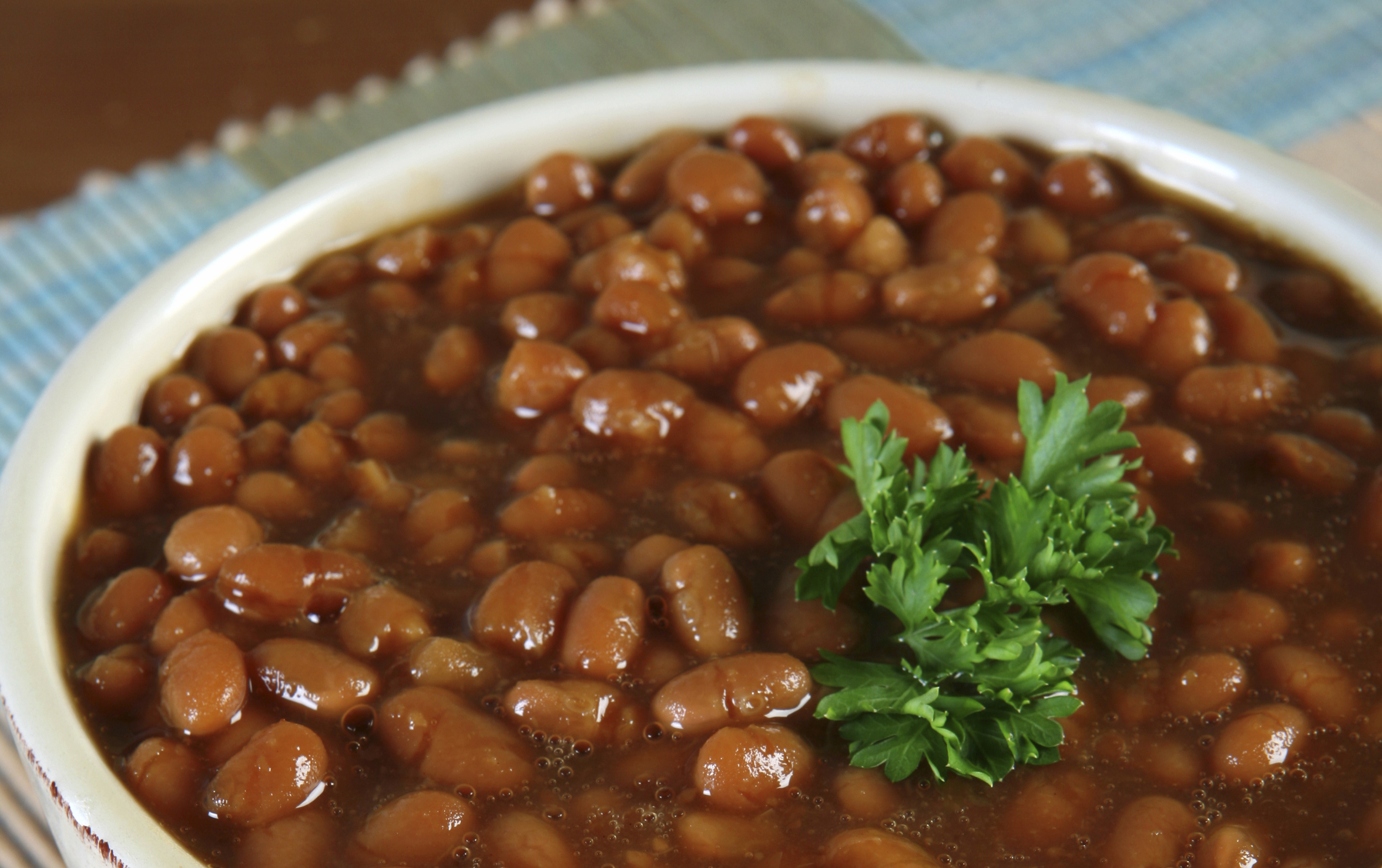 bruna bönor kalorier
