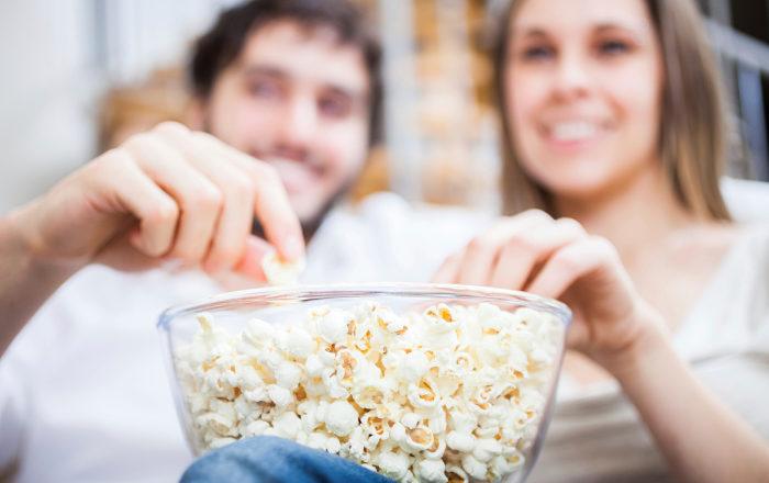 Popcorn är fullproppade med nyttiga fullkorn!
