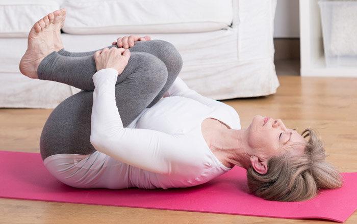 Corestärkande övningar kan förebygga ryggskott.