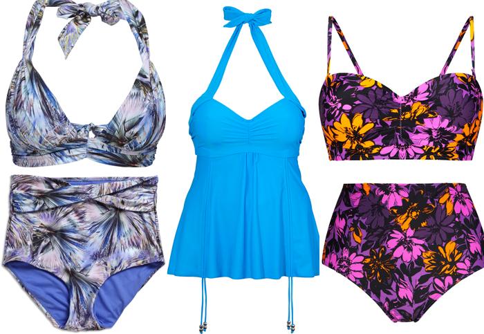 bikini som döljer magen