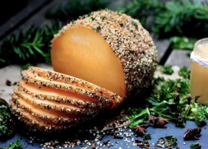 vegansk julskinka recept