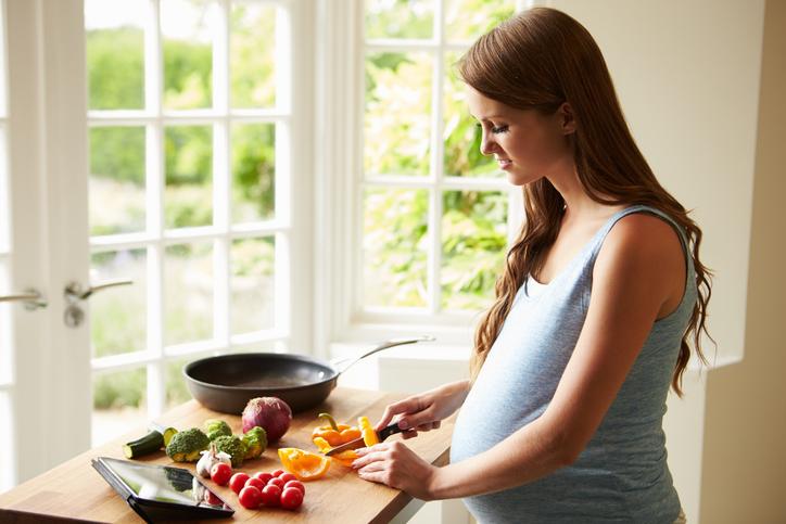 mat att undvika när man är gravid