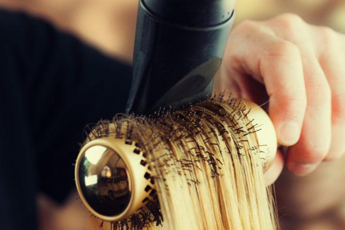 vad består hår av