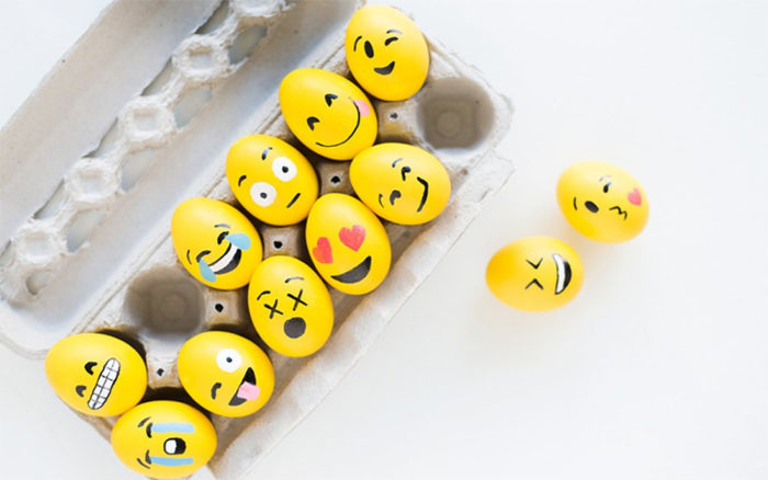 7 roliga motiv att måla på påskäggen med barnen  556b9b8ca4fad