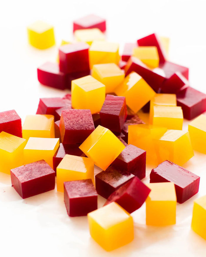 Veganskt fruktgodis
