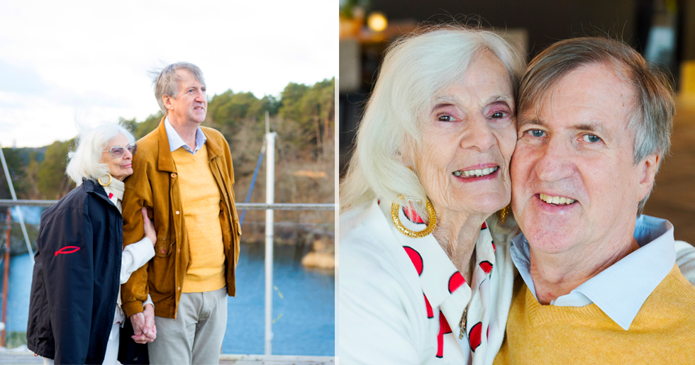 Ruthie och Ulf träffades när hon var 56 och han var 27