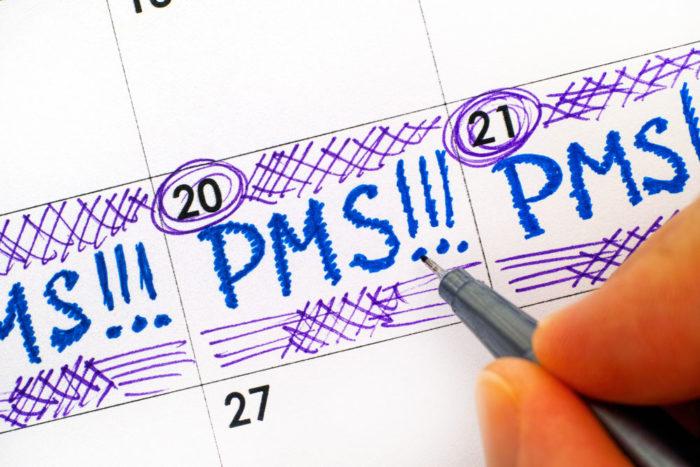PMS drabbar omkring 90 procent av alla kvinnor.