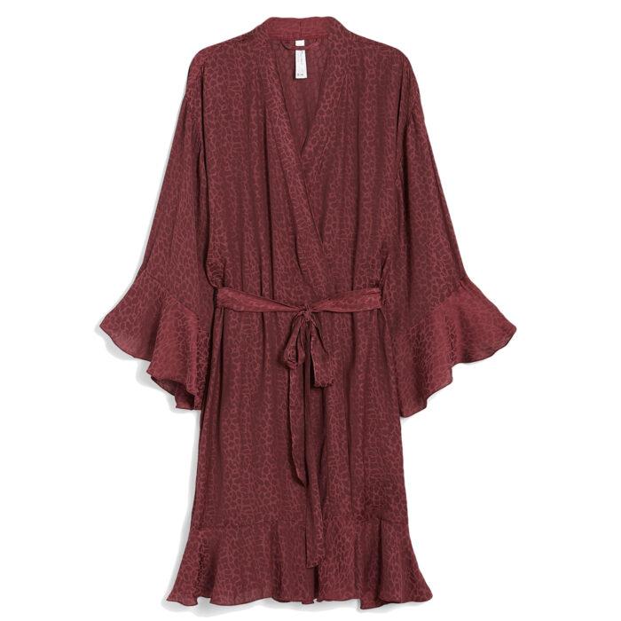 Röd kimono från Kappahl