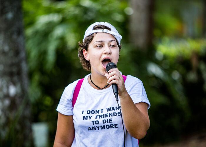 Emma Gonzalez.