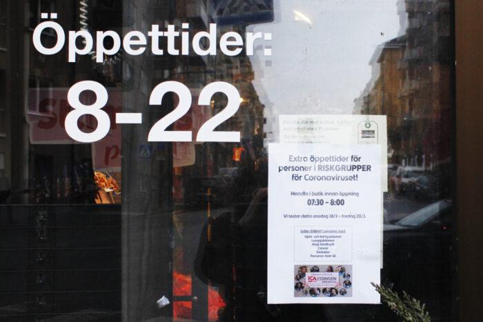 Ica-butiken håller extra öppet för riskgrupper för corona
