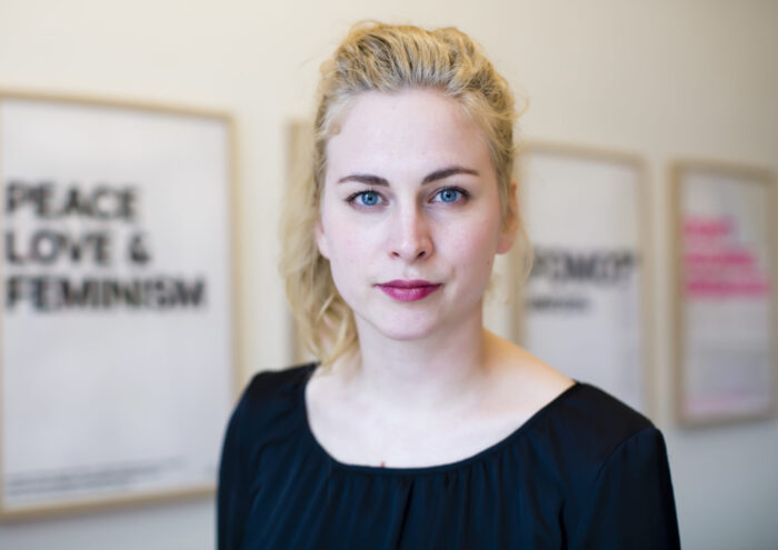 Clara Berglund, ordförande Sveriges Kvinnolobby