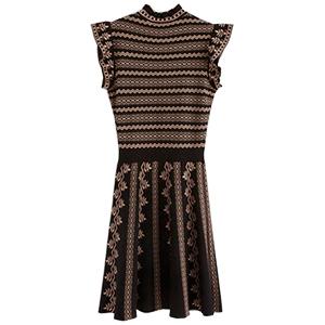 Stickad klänning, Lindex