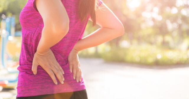 feber och ont i ryggen
