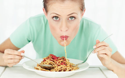 vad händer om man äter för mycket