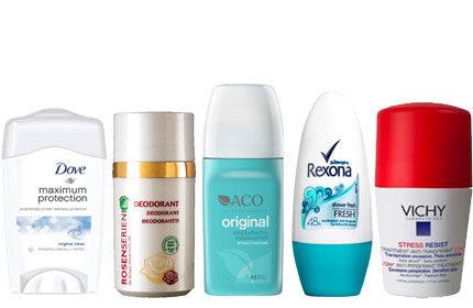 bäst i test deodorant för kvinnor