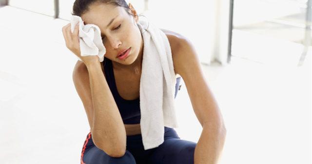 träning trött i kroppen