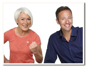 Marie Tegnér och Ola Lauritzson coachar 5:2-klubbens medlemmar!