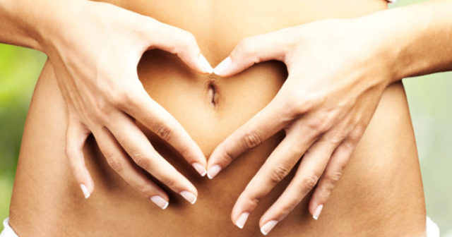 ont i magen efter hysterektomi