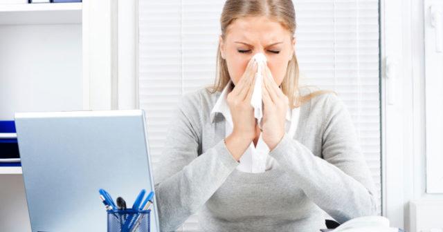 hur sprids förkylning