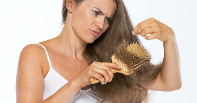 fäller mycket hår