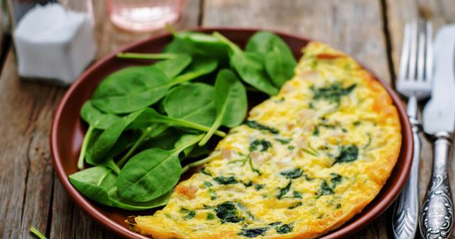 nyttig omelett recept