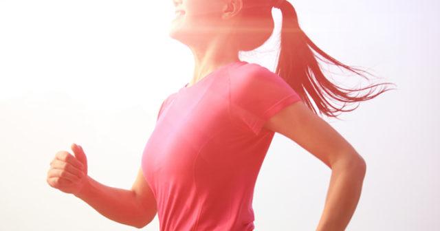 träna på fastande mage