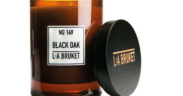 Snyggt och aromatiskt doftljus från L:a Bruket