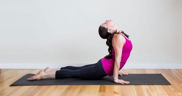 yogapass för nybörjare