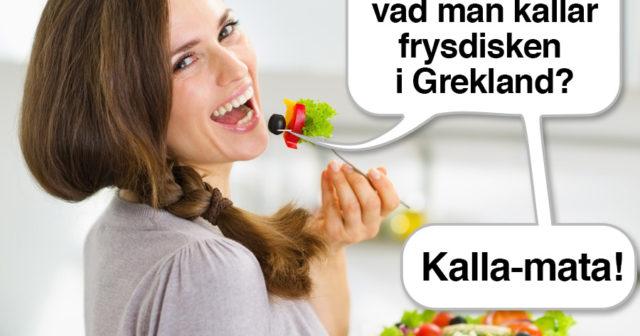 Varför skrattar alla kvinnor som äter sallad? Här är 13 teorier