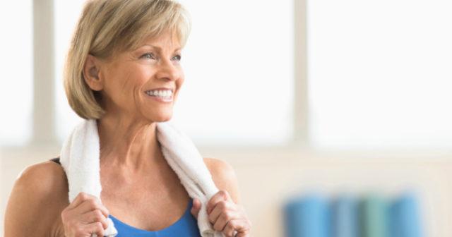 träning för äldre män