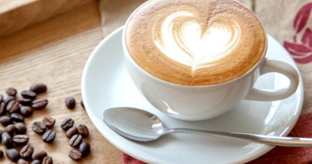 en kopp kaffe till