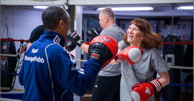 Gunilla, 71:Jag har aldrig tränat så hårt som nu