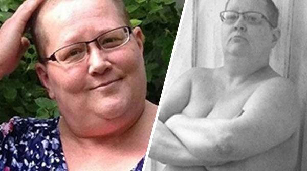 Maria tog fajten mot fettföraktet–blev stor snackis på Instagram