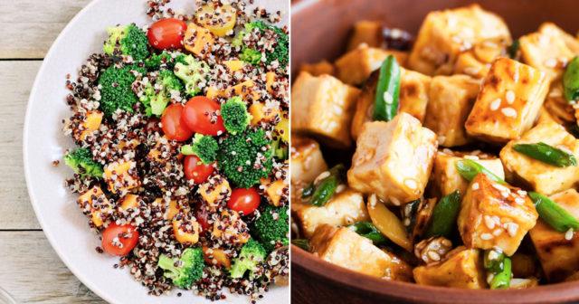 proteinrik mat vegan