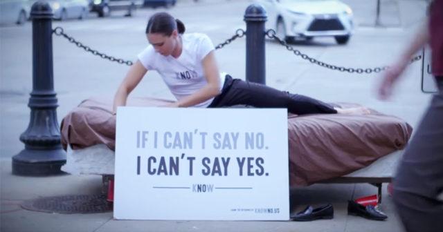 Reklamkampanjen som lyfter frågan om sexuellt samtycke
