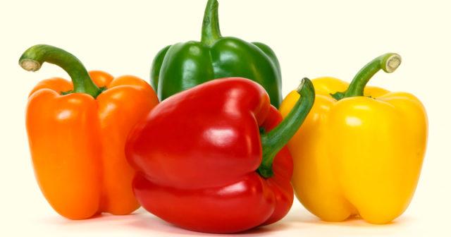 grön paprika näringsvärde
