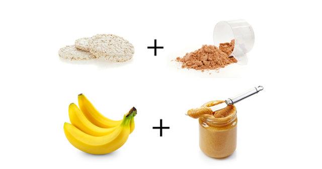 snabba kolhydrater efter träning