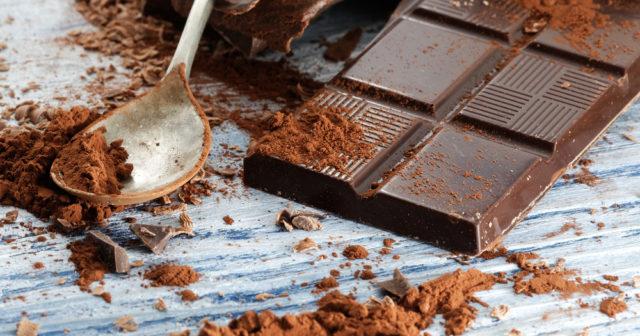 nyttigt med choklad