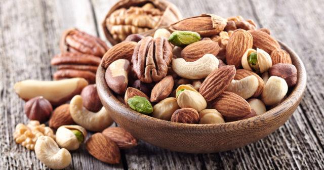 nyttigt med nötter