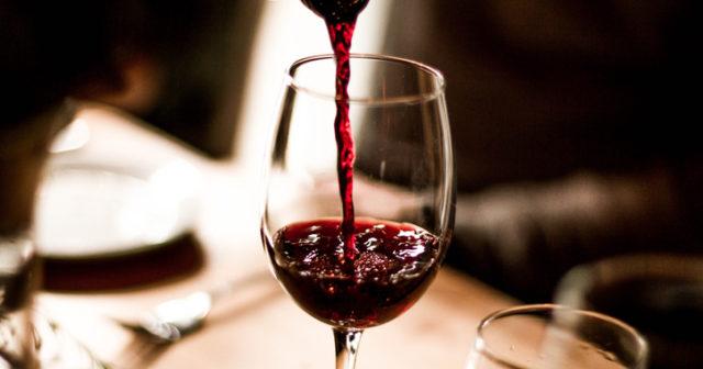 kalorier i ett glas vin