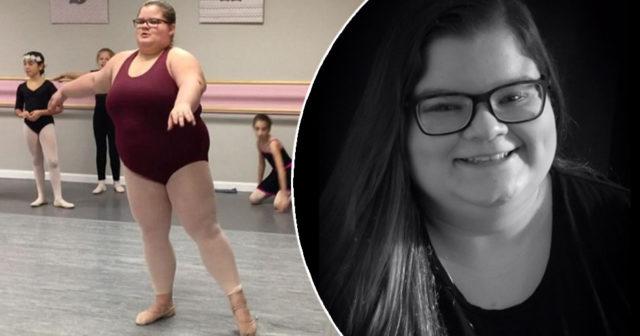 Ballerinan bevisar att storlek inte spelar någon roll – och hon är så duktig