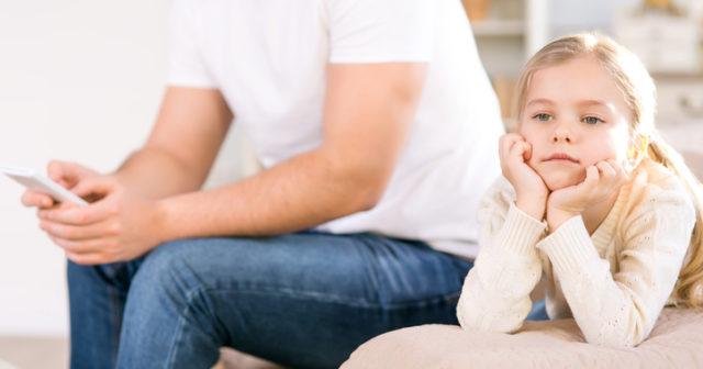 Barn liknar surfande vid depression.