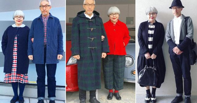 Japanska paret gör succé på Instagram – matchar sina kläder varje dag