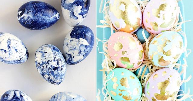 8 snygga och stilfulla ägg att kopiera till påskhelgen