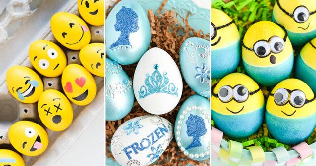 7 tips på roliga motiv att måla på påskäggen med barnen 4bc909d0166a3