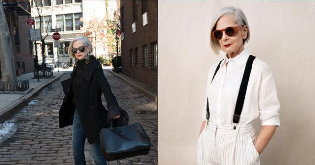 Lyn Slater blev modell vid 63 –  bevisar att mode inte har någon övre åldersgräns