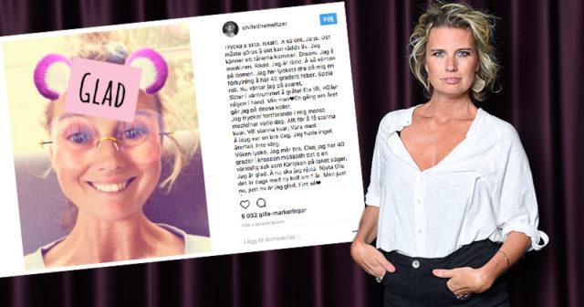 Christine Meltzers glädjebesked efter cancern