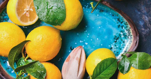 hur mycket c vitamin innehåller en citron