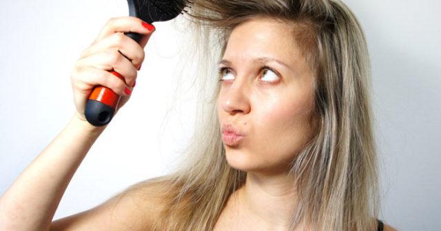 volym till håret